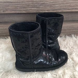 Ugg Australia Sequined boots in black